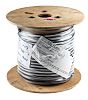 RS PRO 3 Core Screened Industrial Cable, 1.5 mm² (BASEC) Black 50m Reel