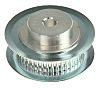 aluminium, Zinc Plated Steel Timing Belt Pulley, 6.35mm