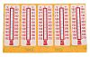 RS PRO Non-Reversible Temperature Sensitive Label, 132°C to 182°C, 10 Levels