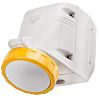 RS PRO IP66, IP67 Yellow Wall Mount 2P+E