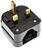 PowerConnections US to UK Mains Connector Converter, Rated