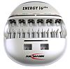 Ansmann Energy 16 Plus NiCd, NiMH 9V, AA, AAA, C, D Battery Charger with EU, UKplug