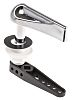Chrome Low Level Cistern Handle RS PRO PPS58RS,
