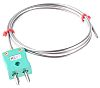 RS PRO Type K Thermocouple 1m Length, 3mm