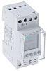 1 Channel Digital DIN Rail Switch Measures Days,