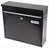 Wall Mount Steel Mail Box 115x360x315mm