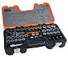Bahco S530T 53 Piece Socket Set, 1/2 in,