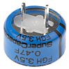 KEMET 0.47F Supercapacitor EDLC -20 → +80% Tolerance,