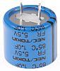 KEMET 1F Supercapacitor EDLC -20 → +80% Tolerance,