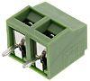 Regletas de terminales PCB, paso5.08mm 2 Contacto Hembra Recta Bloque de terminales PCB, montaje: Orificio Pasante,