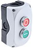 Lovato Panel Mount Emergency Button -, NC/NO, Round