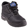 RS PRO Black Steel Toe Cap Mens Safety