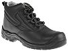 RS PRO Black Composite Toe Capped Mens Safety Boots, UK 9, EU 43