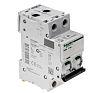 Schneider Electric Acti 9 40A MCB Mini Circuit Breaker, 2P Curve C