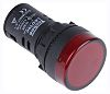 RS PRO, Panel Mount Red LED Indicator, 22mm