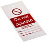 1 x 'Do Not Operate' Lockout Tag, 160 x 75mm