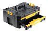 DeWALT TStak Tool Storage 2 drawers  Plastic Tool Box, 314 x 440 x 176mm