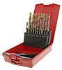 Dormer 19 piece Multi-Material Twist Drill Bit Set,