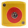 Schneider Electric Surface Mount Emergency Button - Key Reset, NC, Mushroom Head