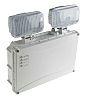 Luces de Emergencia IP65, 2 x 3 W, LED