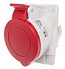 RS PRO IP66, IP67 Red Panel Mount 3P+N+E