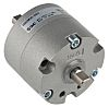 SMC Rotary Actuator, Double Acting, 90° Swivel, 30mm
