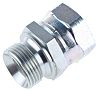 Parker Hydraulic Straight Threaded Adapter 16-16F6MK4S, Connector