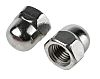 M16 A2 304 Plain Stainless Steel Dome Nut
