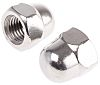 M20 A2 304 Plain Stainless Steel Dome Nut