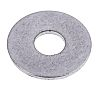 Stainless Steel Plain Washer, 2.5mm Thickness, M10, A2