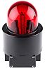 Werma WM 729 EX Red LED Beacon, 24 V dc, Blinking, Wall Mount