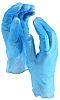 BM Polyco Blue Vinyl Disposable Gloves size 8.5 - L x 100 Powder-Free