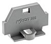 Wago, 260 End Plate for Standard Chassis Mounting