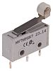 SP Roller Lever Subminiature Micro Switch, 2 A