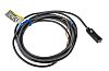 Omron Inductive Sensor - Block, PNP Output, 1.5 mm Detection, IP67, Cable Terminal