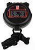 RS PRO Black Digital Pocket Stopwatch