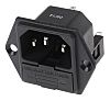 RS PRO C14 Panel Mount IEC Connector Male,
