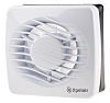 Xpelair 90839AW Wall Mounted Extractor Fan, 76m³/h, 35dB(A)