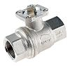 RS PRO Process Ball Valve Brass 1 Way,