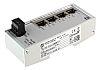 Harting Ethernet Switch, 4 RJ45 port, 24V dc,