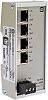 Harting 4 RJ45 port DIN Rail Mount Ethernet
