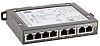 HARTING Ethernet Switch, 8 RJ45 port, 48V dc,