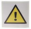 Self-Adhesive Symbol Hazard Warning Sign