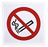 Vinyl No Smoking Prohibition Sign, None