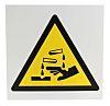 RS PRO Symbol Hazard Warning Sign