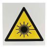 """Cartello Pericolo raggi laser """""""""""