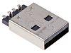 Wurth Elektronik, WR-COM USB Connector, SMT, Plug 2.0