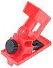 1 Lock, 7mm Shackle Clamp-On Breaker Lockout