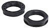 RS PRO Black Nylon 66 Cable Gland Locknut,