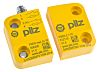 Interruptor de seguridad Pilz 506405, IP67, 36 x 26 x 13 mm, Magnetic, 4, Plastic, M8, Sí, NO/NC, 13mm, Amarillo, 36mm,